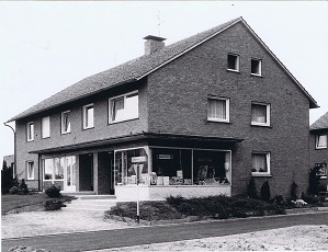 Das Geschaeft von Vervoorts im Jahre 1961