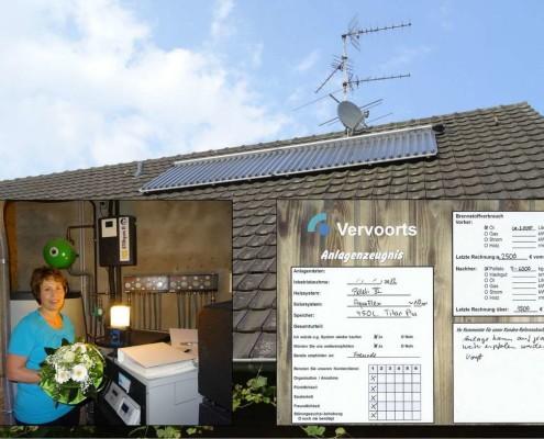 Kundenreferenz Pelletheizung mit Solar