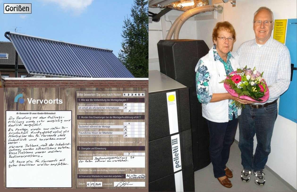 Kundenreferenz Heizungsanlage mit Solar