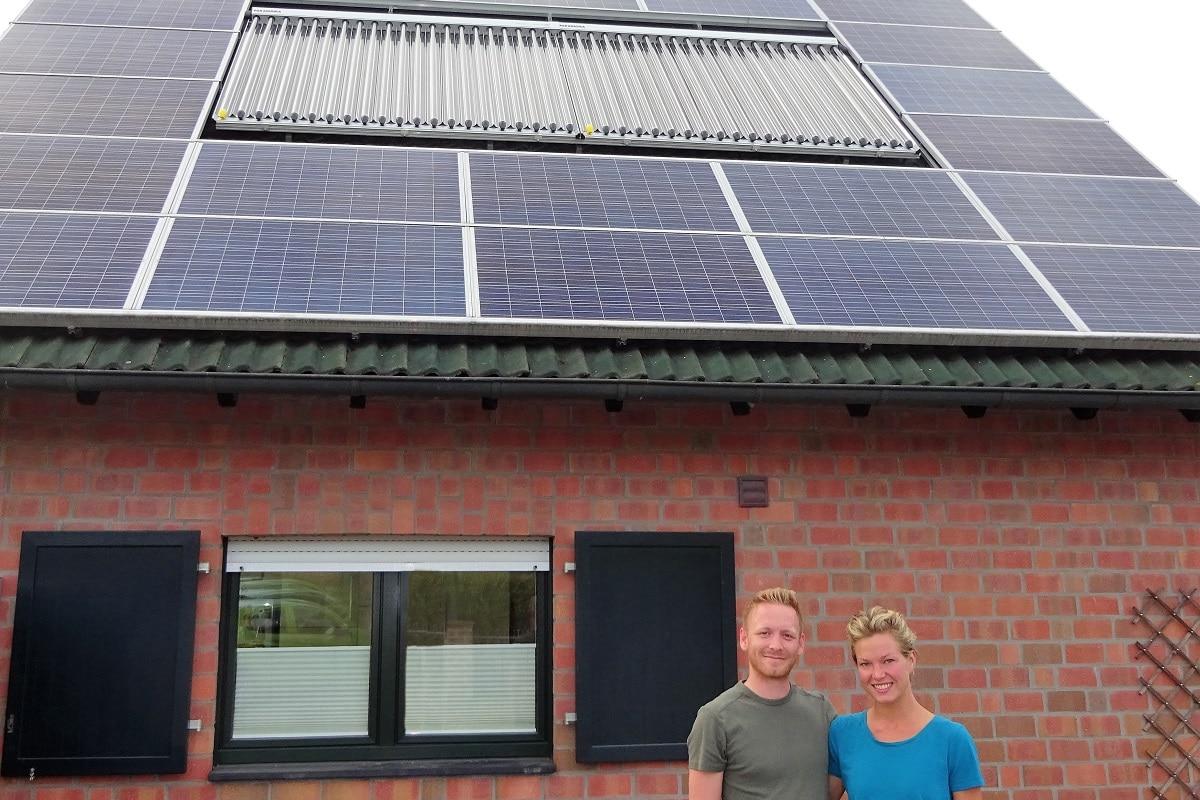 Kundenreferenz Gasbrennwertheizung mit Solar von Vervoorts aus Kleve- Kranenburg