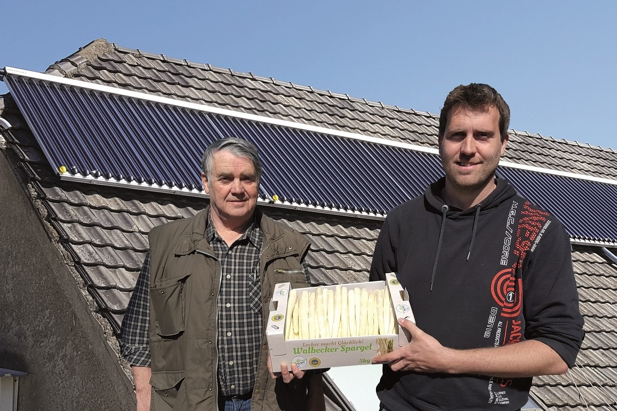 Kundenreferenz Grosssolaranlage von Vervoorts Kleve- Kranenburg