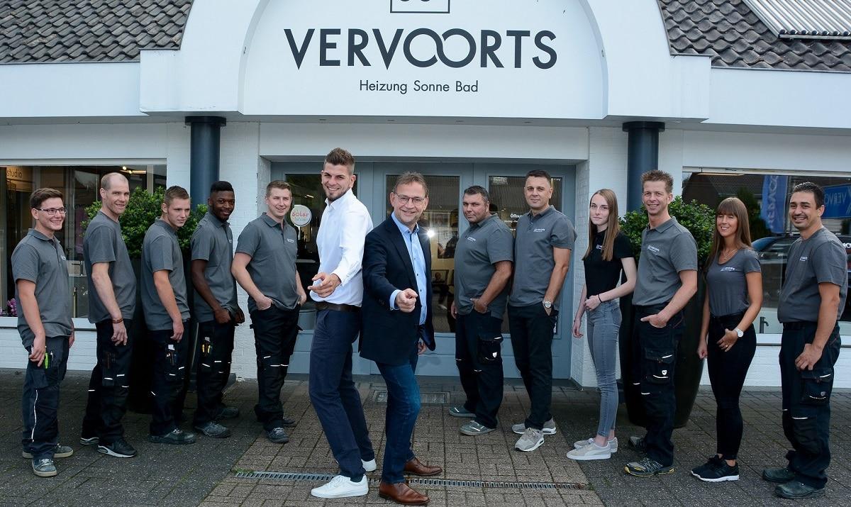 Das Team der Vervoorts GmbH in Kleve- Kranenburg