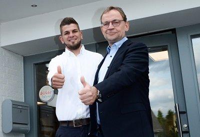 Geschäftsführer Ulrich Vervoorts und Juniorchef Philipp Vervoorts