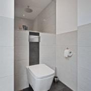 Das Bad nach der Badsanierung, das WC von Vervoorts GmbH in Kleve-Kranenburg