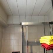 Kundenreferenz Badsanierung in Emmerich, die Dusche vor der Sanierung