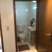 Kundenreferenz Badsanierung in Emmerich, das Gäste-WC vor der Sanierung