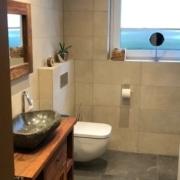 Kundenreferenz Badsanierung in Emmerich, das neue Bad im Detail von Vervoorts GmbH in Kleve-Kranenburg