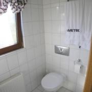 Vor der Badsanierung des WCs im Fertighaus, durch Vervoorts GmbH in Kleve-Kranenburg
